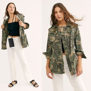 Free People Not Your Brother's Surplus Jacket NWOT